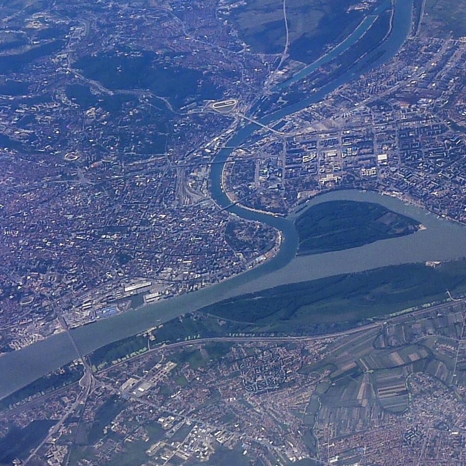 Belgrade from above