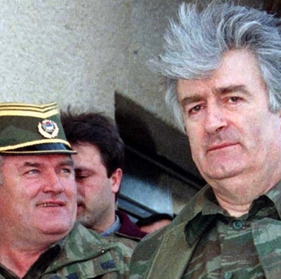 Mladic and Karadzic